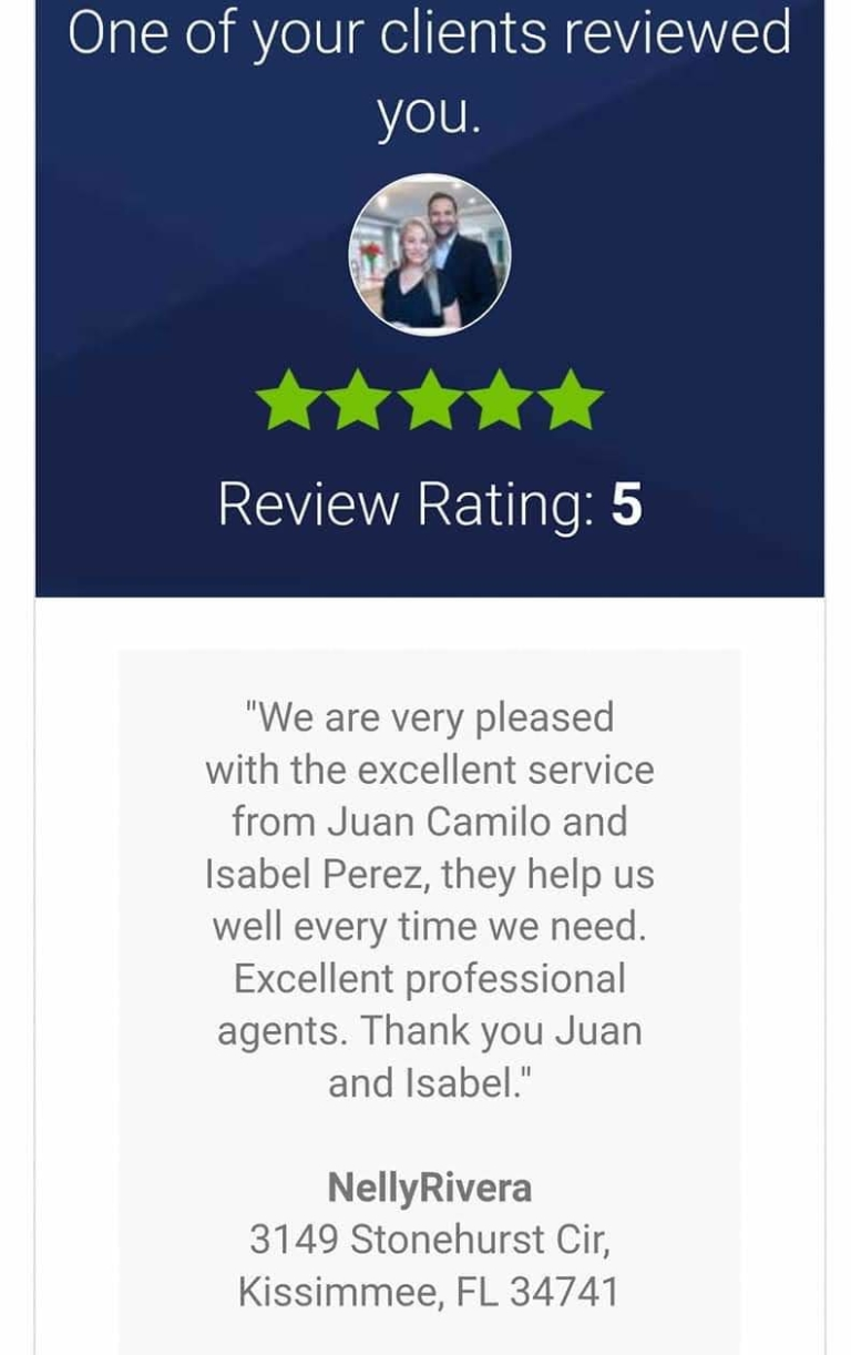 Juan & Isabel Perez Reviews, buy a house, sell a house, we buy houses, get a cash offer